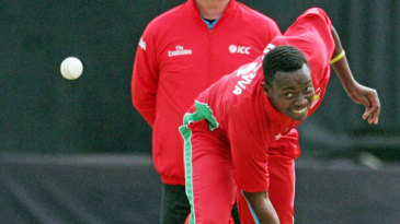 Neville Madziva made his ODI debut for Zimbabwe