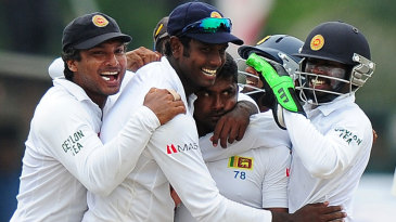 Rangana Herath was at the heart of another Sri Lankan victory charge