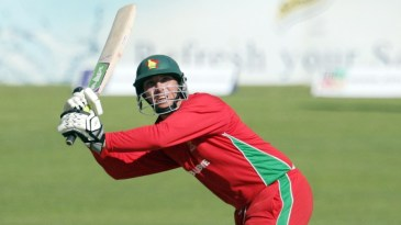 Brendan Taylor whips one to the leg side
