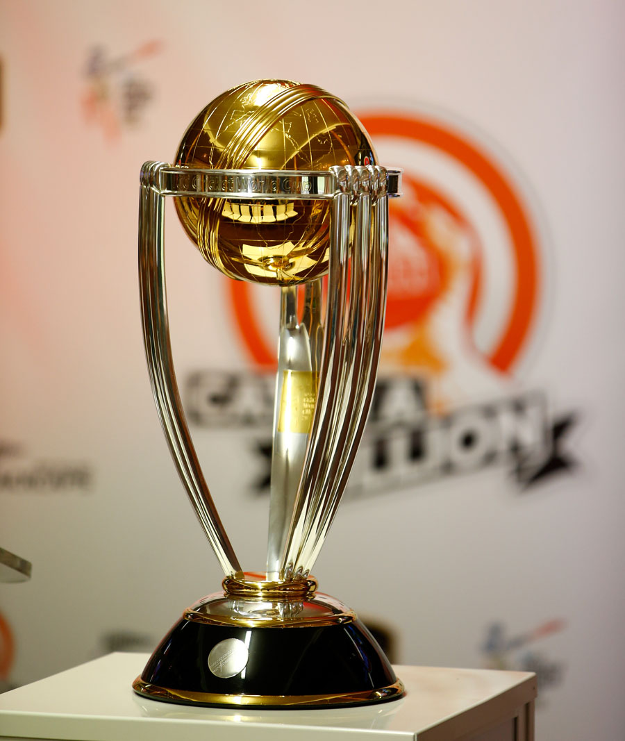 The Icc World Cup Trophy Photo Icc Cricket World Cup 2015