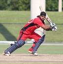 Charan Singh looks for a run behind point, Atlantic v North West, USACA T20 National Championship, Lauderhill, August 15, 2014