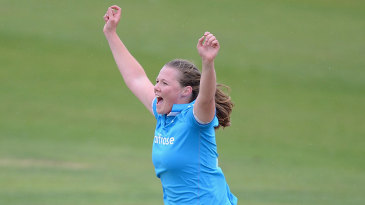 Anya Shrubsole made early breakthroughs for England