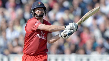 Karl Brown led Lancashire's recovery