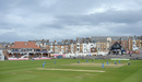 A picturesque view of the Scarborough ground, England v India, 1st women's ODI, Scarborough, August 21, 2014