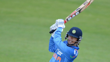 Smriti Mandhana led the charge at the top of the order