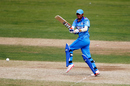 Harmanpreet Kaur targets the leg side, England v India, 2nd women's ODI, Scarborough, August 23, 2014