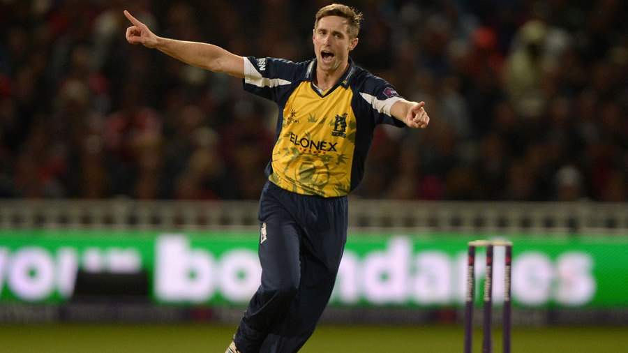 Chris Woakes helped close out the victory