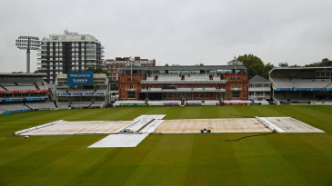 Overnight rain delayed the start of the third women's ODI at Lord's