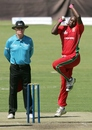 John Nyumbu had an expensive outing, Zimbabwe v Australia, Tri-series, Harare, August 25, 2014