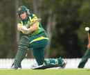 Australia's Delissa Kimmince hit 42, Australia v Pakistan, 4th women's ODI, Brisbane, August 28, 2014