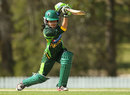 Pakistan's Javeria Khan was the only player to hit a half-century in the game, Australia v Pakistan, 4th women's ODI, Brisbane, August 28, 2014