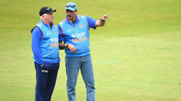 Ravi Shastri shares his thoughts with Duncan Fletcher