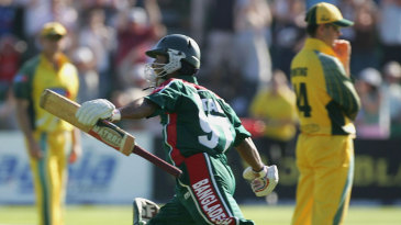 Aftab Ahmed after one of the the biggest upsets in cricketing history
