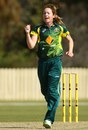 Sarah Coyte took 3 for 9, Australia v Pakistan, 1st women's T20, Gold Coast, August 30, 2014