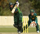 Marina Iqbal's 22 was Pakistan's top score, Australia v Pakistan, 1st women's T20, Gold Coast, August 30, 2014