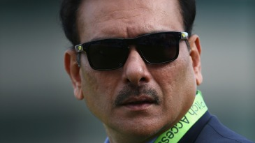 Ravi Shastri at Trent Bridge