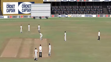 Screengrab from Cricket Captain 2014