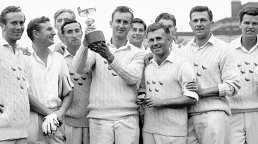 Ted Dexter and the 1963 Gillette Cup-winning Sussex side