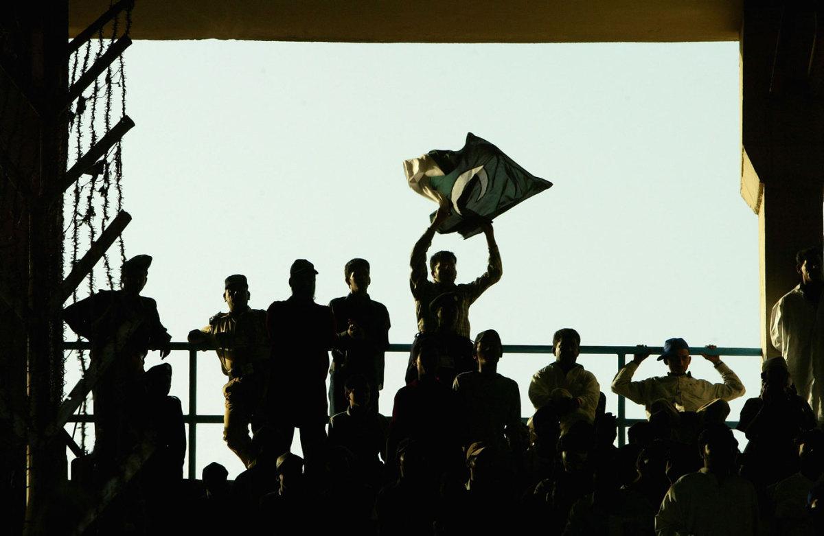 Pakistan fans celebrate