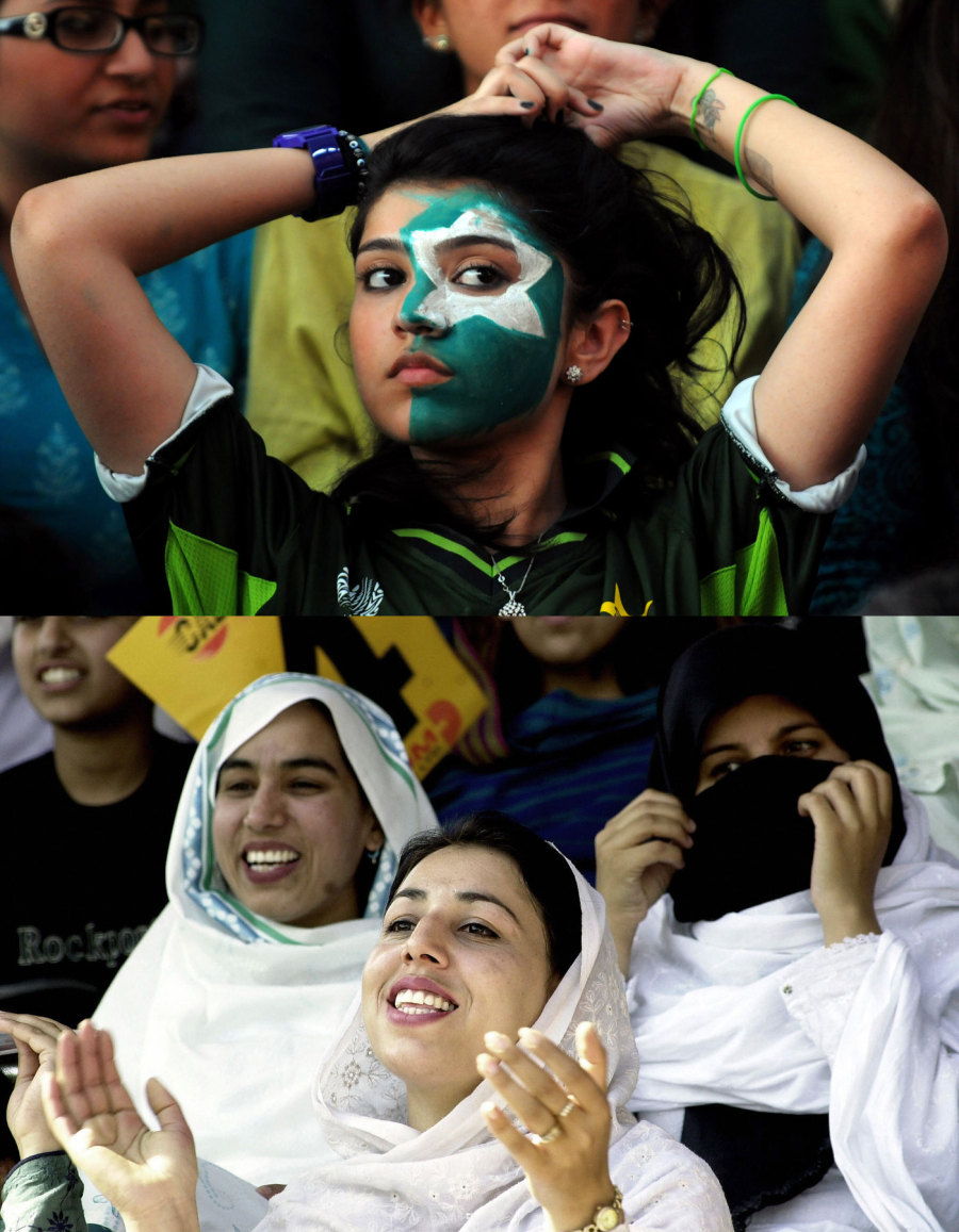 Women in Pakistan are increasingly breaking male stereotypes on how cricket fans ought to behave