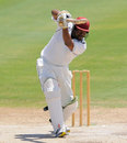 Shane Jeffers produced a stroke-filled century, St Kitts & Nevis v Bangladeshis, tour game, 2nd day, St Kitts, August 31, 2014