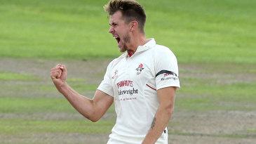 Tom Bailey broke Yorkshire's opening partnership