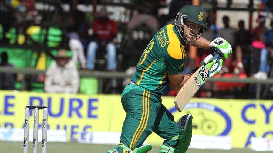 Faf du Plessis kickstarted South Africa's chase
