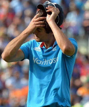 Alastair Cook's despair is clear as his England ODI side is trounced again