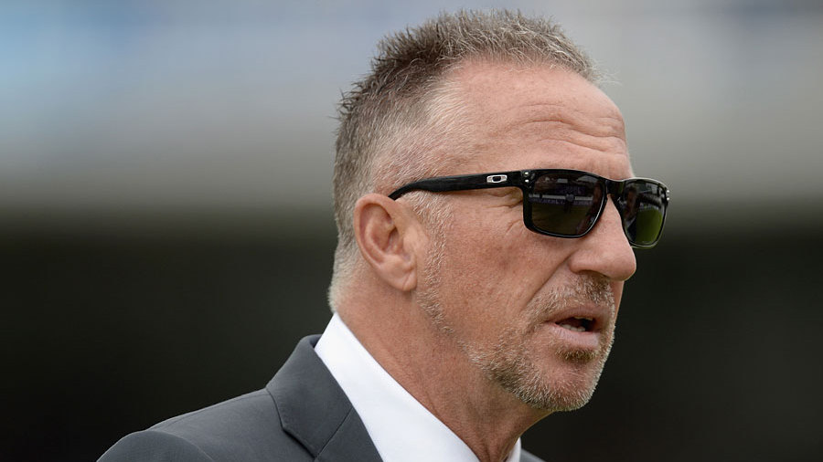 Ian Botham on the outfield