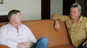 Daryll Cullinan and Martin Crowe