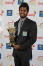 Niroshan Dickwella was named the Emerging Cricketer of the Year, Colombo, September 3, 2014
