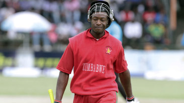 Vusi Sibanda was run out for 11
