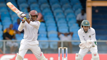 Shivnarine Chanderpaul was slow but solid
