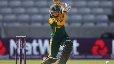 Dane van Niekerk got the chase off to a solid start