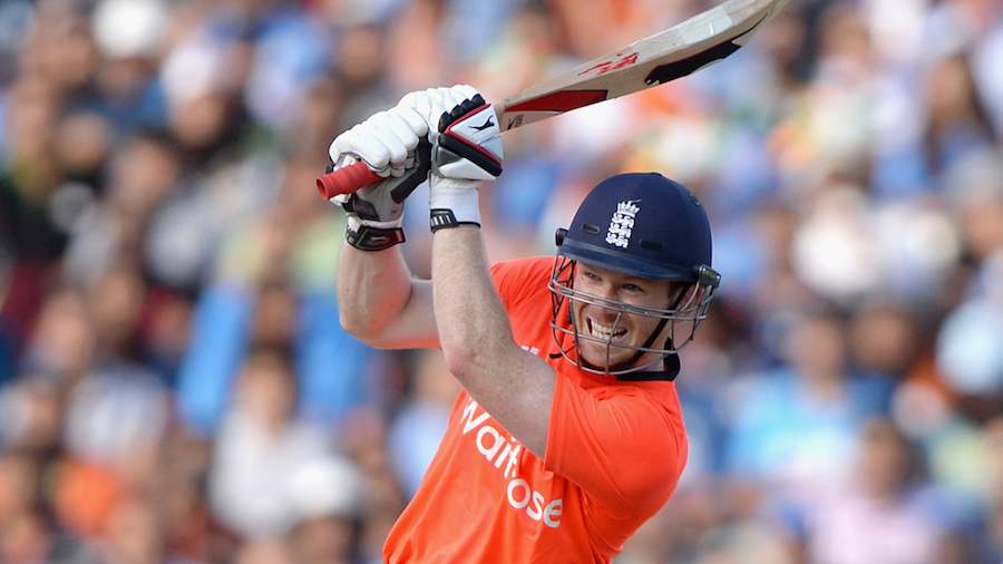 Future is bright: Eoin Morgan's assault lifted England