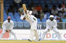 Shamsur Rahman plays through the leg side, West Indies v Bangladesh, 1st Test, St Vincent, 3rd day, September 7, 2014