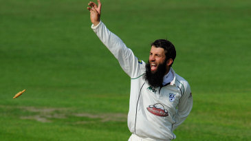 Moeen Ali appeals for a run out