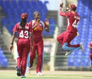 Tremayne Smartt finished with figures of 10-3-24-5, West Indies v New Zealand, 1st women's ODI, St Kitts, September 12, 2014