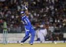 Aditya Tare struck two fours and two sixes, Mumbai Indians v Lahore Lions, CLT20 qualifier, Raipur, September 13, 2014