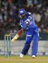 Harbhajan Singh scored 18 off 10, Mumbai Indians v Lahore Lions, CLT20 qualifier, Raipur, September 13, 2014