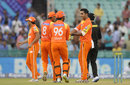 Asif Raza is congratulated after a wicket, Northern Knights v Lahore Lions, CLT20, Raipur, September 14, 2014