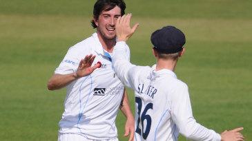 Mark Footitt picked up a six-wicket haul