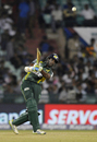 Jehan Mubarak takes the aerial route, Southern Express v Lahore Lions, CLT20 qualifier, Raipur, September 16, 2014