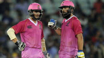 Kane Williamson and Anton Devcich shared an opening stand of 83