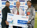 Khurram Manzoor was Man of the Match for his 109, Karachi Zebras v Multan Tigers, Haier Cup National T20, Karachi, September 17, 2014