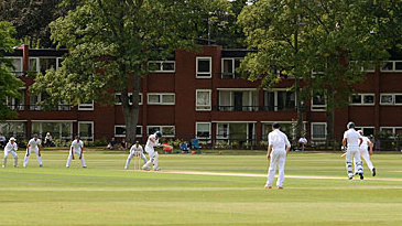 An overview of the Fenner's ground in Cambridge