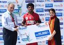 Zubair Ahmed was Man of the Match for his unbeaten ton, Larkana Bulls v Quetta Bears, Haier Cup National T20, Karachi, September 18, 2014