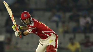 Glenn Maxwell lines up for a big hit