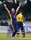 Paul Collingwood trapped Jonathan Trott lbw, Durham v Warwickshire, Royal London Cup final, Lord's, September 20, 2014