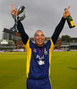 Gareth Breese signed off his Durham career in the best way, Durham v Warwickshire, Royal London Cup final, Lord's, September 20, 2014